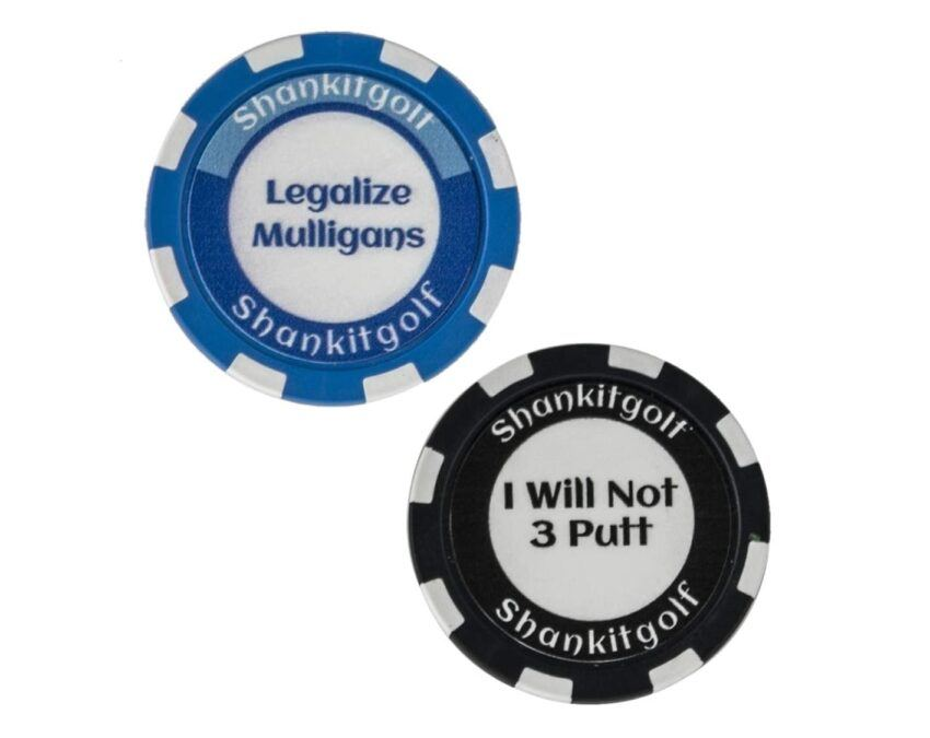 Funny Poker Golf Markers