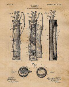 Example Vintage Golf Patent Prints
