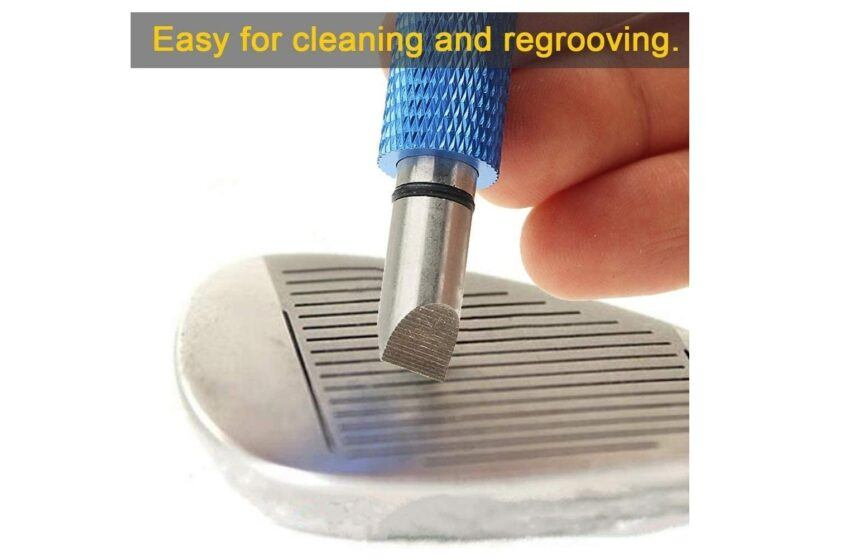 Golf Club Groove Cleaner and Sharpener