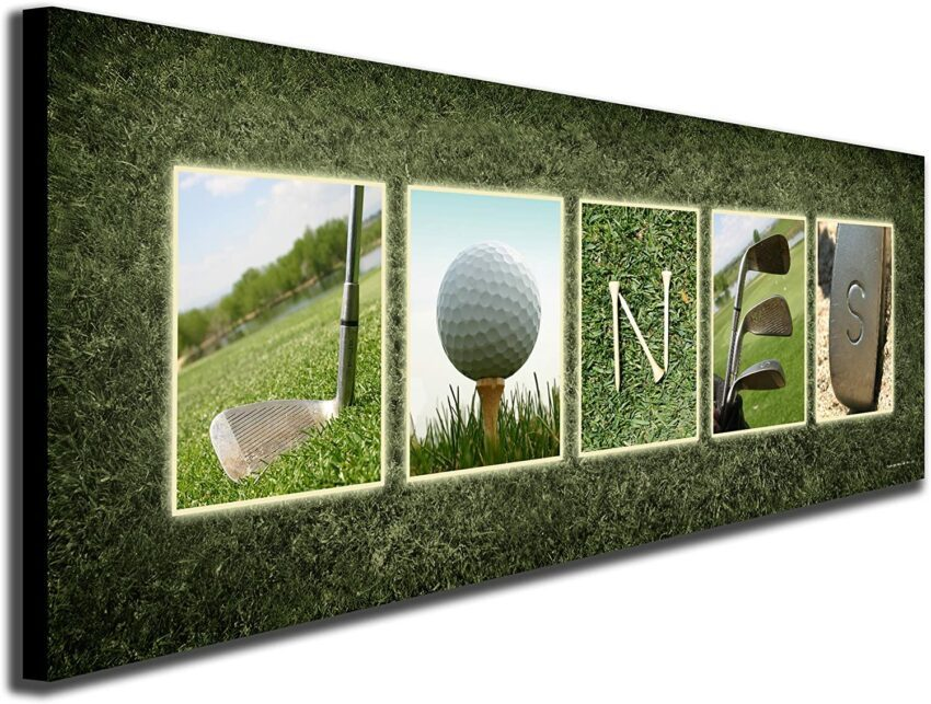 Personalized Golf Name
