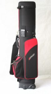 Travel Mate Travel Golf Bag Red