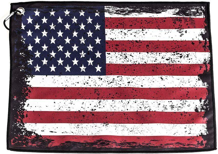 USA Flag Golf Towel