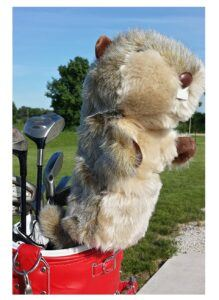 Oversized Gopher Golf Head Cover